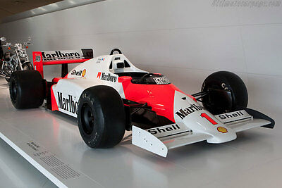 1/10 Unpainted F1 Mclaren MP4/2C RC Body Car decal package for Tamiya F103 F104w