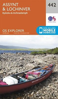 OS Explorer Map (442) Assynt and Lochinver (Map), Ordnance Survey, 9780319246856
