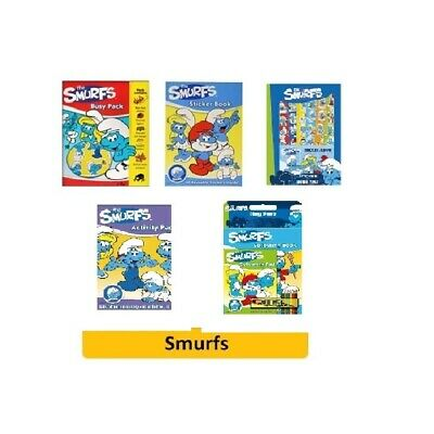 SMURFS Stationery/Sets (Pencil/Eraser/Ruler/Colouring/Christmas Gift/Blue/Book)