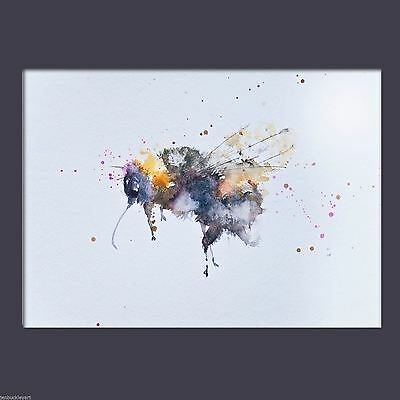 JEN BUCKLEY signed LIMITED EDITON PRINT of my original BEE watercolour A3