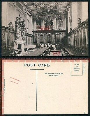 Orig. AK Cambridge England Dining Hall