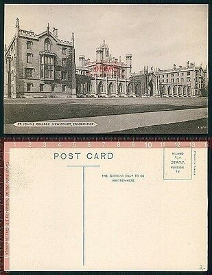 Orig. AK Cambridge England College