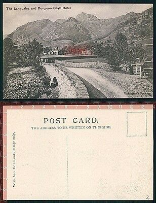 Orig. AK Langdales and Dungeon Ghyll Hotel