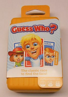 Hasbro Shuffle Guess Who Card Game Plus Free App NEW