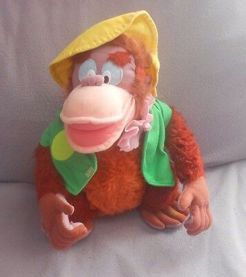 Vintage Walt Disney - Jungle Book - King Louie - 10 Inch Soft  Toy - (1)