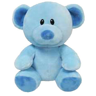 Baby TY - LULLABY the Blue Bear (Regular Size - 7 inch) - New BabyTy Stuffed Toy
