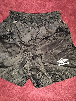 Umbro Youth Small Shorts 100% Nylon