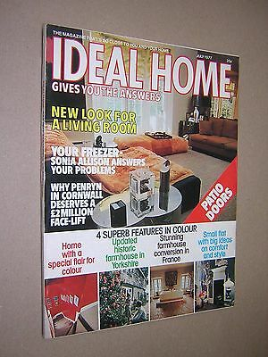 Ideal Home Magazine. July 1977. Complete And Good. Style Design Fashion