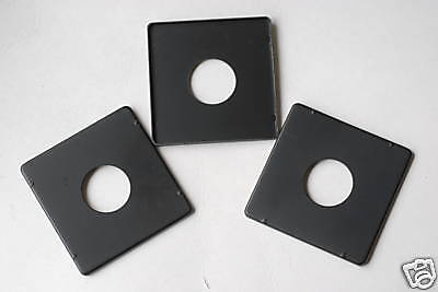 3 x Lens Board For 4x5 Graphic Camera, Copal 0