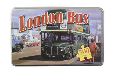 London Bus 500 Piece Jigsaw