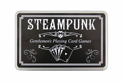 Steampunk Gentlemans Playing Card Games Set