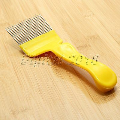 Beekeeping 18-Pin Honey Comb Stainless Steel Tine Uncapping Fork Scratcher CG