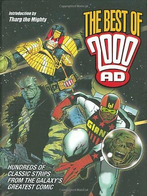 The Best of 2000AD,  | Hardcover Book |  |