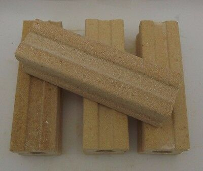 """Quality Kiln Posts 1-1/2 inches wide by 5"""" Tall Set of FOUR Fusing Furniture"""