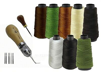 2018 Updated Leather Canvas Tent Sewing Awl Quick Stitch Repair Tool Heavy Duty