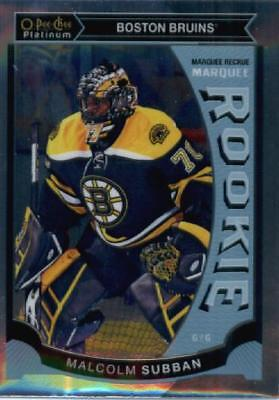 2015-16 O-Pee-Chee Platinum Marquee Rookie #M5 Malcolm Subban Boston Bruins