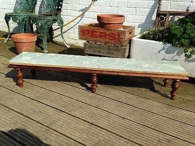 Lovely Long Antique Foot Stool