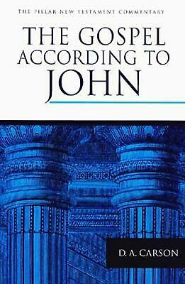 The Gospel According to John by D.A. Carson (English) Hardcover Book Free Shippi