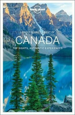 NEW Best of Canada By Lonely Planet Paperback Free Shipping