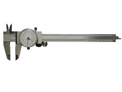"Dial Caliper Dual Reading 6"" 150mm Brand New Calipers"