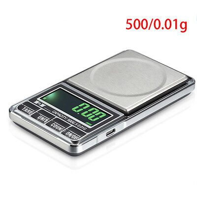 Newest Electronic Pocket Digital Jewellery Weighing Scales 0.01G to 1000 Grams