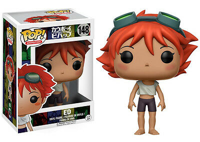 Cowboy Bebop Anime Series ED Vinyl POP! Figure Toy #148 FUNKO NEW MIB