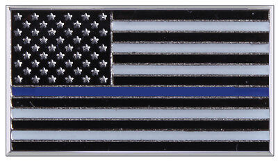USA Flag Pin US Police Thin Blue Line Blue Lives Matter Rothco 1967