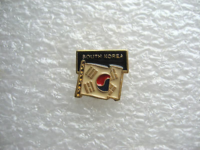 Pin's South Korea Flag  / Drapeau Corée Du Sud Pin Pins T21