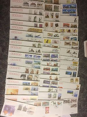 CHINA CHINE STAMPS SELECTION No 04 OF OFFICIAL FIRST DAY COVERS X 50 BUY IT NOW