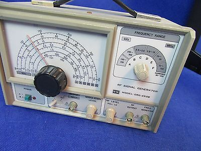 Gw Instek Grg-450B Rf Signal Generator- Ham Radio Test Equipment