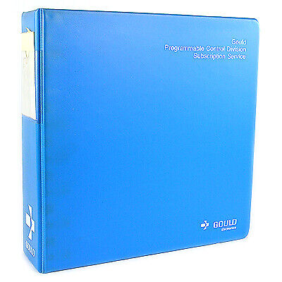 Gould Programmable Control Service Manuals W/Binder (9)