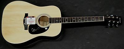 Chris Martin Hand Signed Autographed Acoustic Guitar Cold Play GA GV 852245