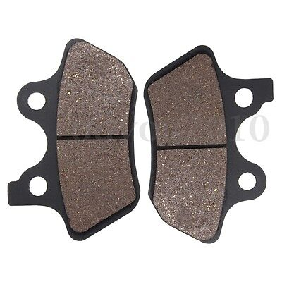 Front Rear Brake Pads For Harley Davidson Dyna Touring Sportster Road King Glide