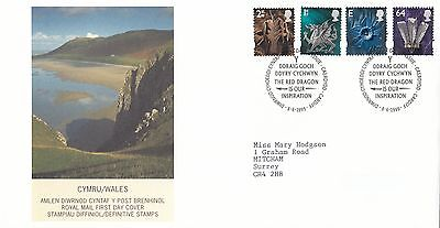 (99755) GB Wales FDC 64p E 1st 2nd Cardiff 8 June 1999