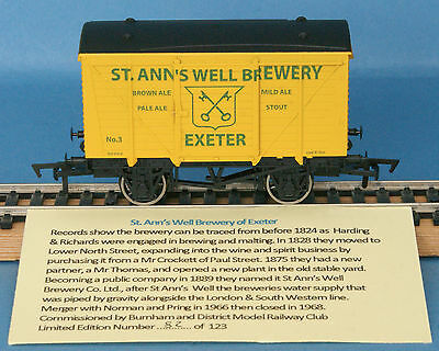 Dapol St Anne's Well Brewery Exeter Ventilated Van Nº 3 LE of 123 Boxed