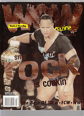 WOW Magazine World of Wrestling July 1999 The Rock Stone Cold