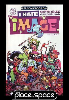 Free Comic Book Day 2017 I Hate Image Featuring Walking Dead, Saga, Spawn