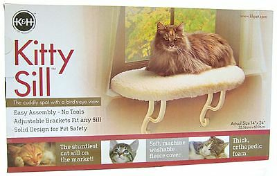 K&H Pet Products Kitty Sill Cat Window Perch (Unheated)