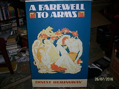 """Ernest Hemingway A Farewell to Arms 20"""" x 30"""" Painting/Print on Canvas"""