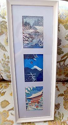 Vintage Original Japanese Wood Block Prints Signed #1