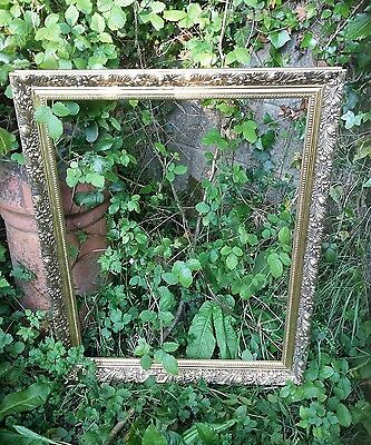 Wooden Vintage Ornate Gold Gilt Baroque Antique Style Picture Photo  Frame