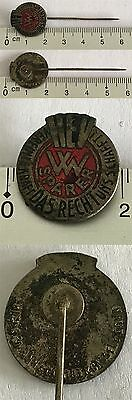 Orig alter VW Sparer Volkswagen Käfer Pin Anstecker an Nadel
