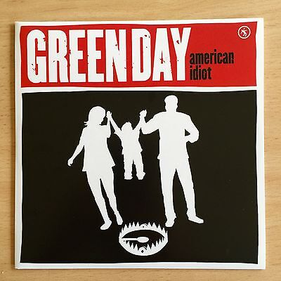 """GREEN DAY - American Idiot 7"""" Black Vinyl Not Picture Disc"""