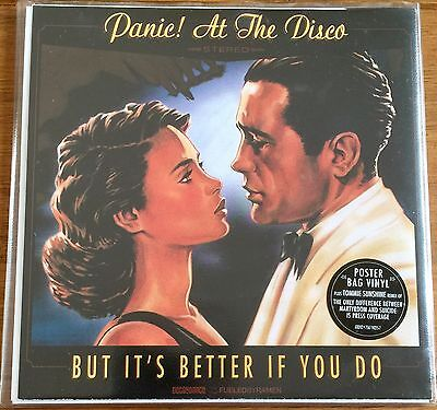 """Panic At The Disco - But It's Better If You Do  7"""" Vinyl In Poster"""