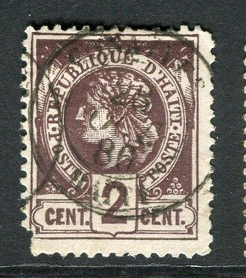 HAITI;   1882 early classic Liberty issue used 2c. value