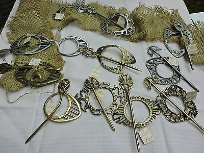 1970's VINTAGE HAIR ACCESSORIES LOT NEW OLD STOCK LORELEI