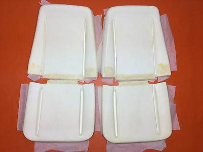 1966-70 Chevelle Seat Foam A Body Bucket Seats Foams Buns Cushions Skylark GTO