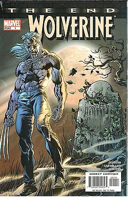Wolverine The End #1 January 2004 Marvel NM- 9.2