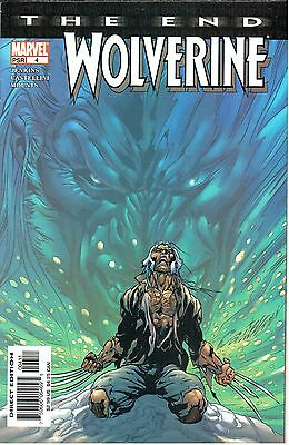Wolverine The End #4 August 2004 Marvel NM- 9.2