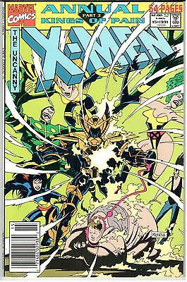 Uncanny X-Men Annual #15   1991 Marvel VF 8.0  UPC
